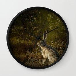 Hare Wall Clock