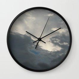 Darkest | sky photography  Wall Clock