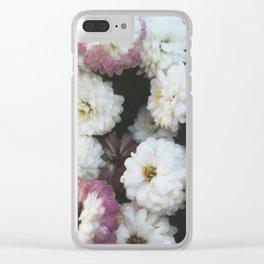 Romantic Petals Clear iPhone Case