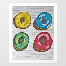Sweet breakfast Art Print