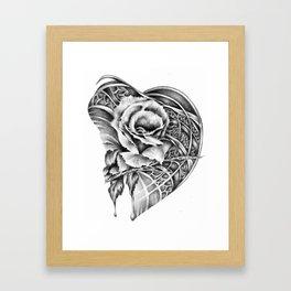 Rose Beat Framed Art Print
