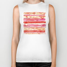 Sunset Stripes Biker Tank