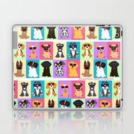 Doggi Breeds summer by Diseños que ladran Laptop & iPad Skin