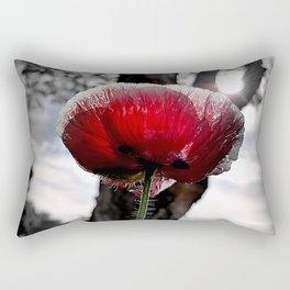 Poppy Glow Rectangular Pillow