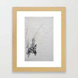 Hand Study 1 Framed Art Print
