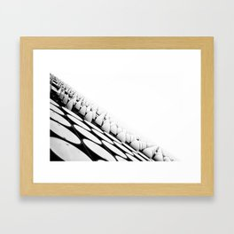 Open Day (Swanston x Victoria Street, 2013) Framed Art Print