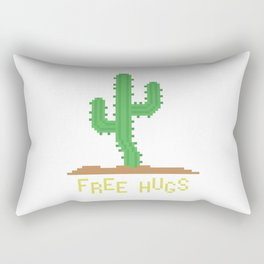 free hugs 2 Rectangular Pillow