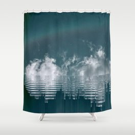 Icing Clouds Shower Curtain