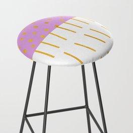 AZTEC BABE - Modern Pink Furniture Bar Stool