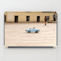 toddler iPad Cases featuring Toddler Car In Monaco by ExperienceTheFrenchRiviera