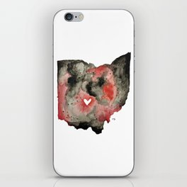 Buckeye Ohio iPhone Skin