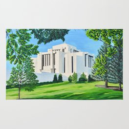 Cardston, Alberta Temple Rug