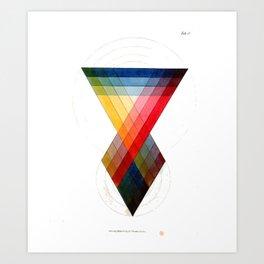 Prismatic Color Art Print