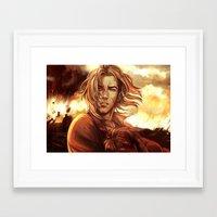 battlefield Framed Art Prints featuring Battlefield by SirWendigo
