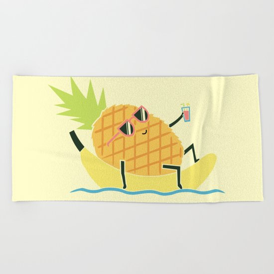 Summer Chillin Beach Towel