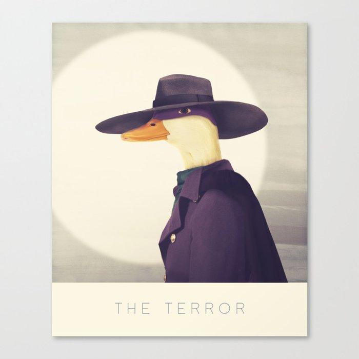 Justice Ducks - The Terror Canvas Print