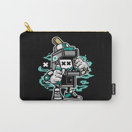 Funny Gaming Machine And Baseball Bat Carry-All Pouch