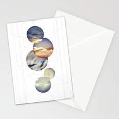 Mobile Sky Stationery Cards