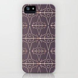 Charcoal Mythology Textile iPhone Case