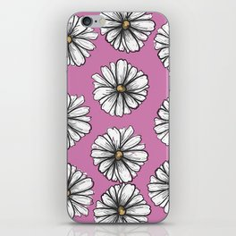 Please Don't Eat the Daisies Pink iPhone Skin