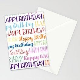 Happy Birthday | Fun & Bright Stationery Cards