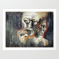 Storytelling - Ocular Prosthesis Art Print