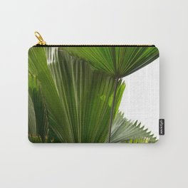 Palm Tree Photography   Landscape   Palm Leaf   Tropical Leaves   Green Tropical Leaves Carry-All Pouch