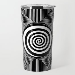 The Center of the World Travel Mug
