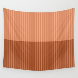 Color Block Lines XXXVIII Wall Tapestry