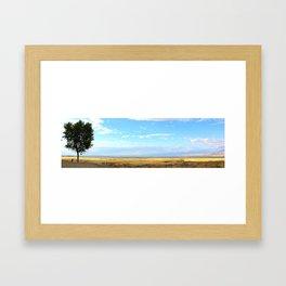 Heaven on Highway 1 Framed Art Print
