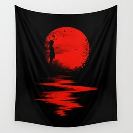 The Land of the Rising Sun Wall Tapestry