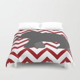 Roll Tide Elephant Crimson Tide Alabama Duvet Cover
