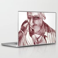 actor Laptop & iPad Skins featuring 1898 Stage actor by seb mcnulty