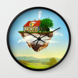 Joseph's Moving Castle Wall Clock