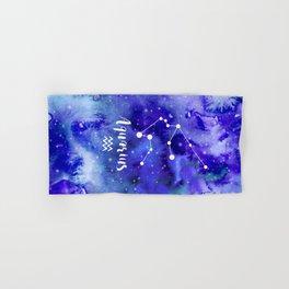 Aquarius Constellation Hand & Bath Towel