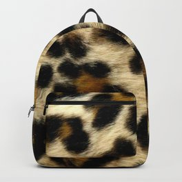 Leopard Print Pattern Animal Print Design Backpack