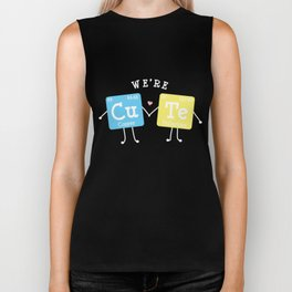 Sweet Cute Element Periodic Table Love Gift Biker Tank