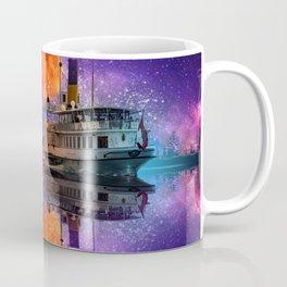River Boat Fantasy Coffee Mug