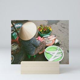 Hoi An Market Mini Art Print
