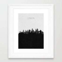 City Skylines: London Framed Art Print