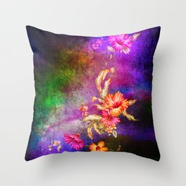 flowers cp Throw Pillow