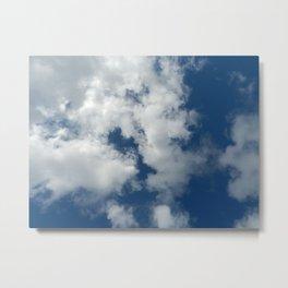 Etre dans les nuages Metal Print