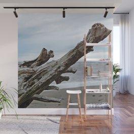 Natural Driftwood Wall Mural