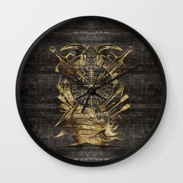 Vegvisir - Viking  Navigation Compass Wall Clock