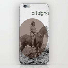 art signals  iPhone Skin