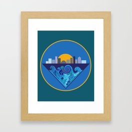 Rising Tides Framed Art Print
