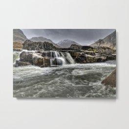 River Etive Metal Print