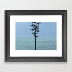 Split Sea Framed Art Print