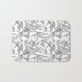 Givers and beggars Bath Mat