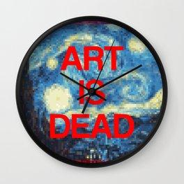 Art is Dead Wall Clock